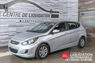 Used 2014 Hyundai Accent GL+GR/ELEC+A/C+BLUETOOTH for sale in Laval, QC