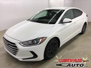 Used 2017 Hyundai Elantra LE A/C BLUETOOTH CRUISE CONTROL *Bas Kilométrage* for sale in Shawinigan, QC