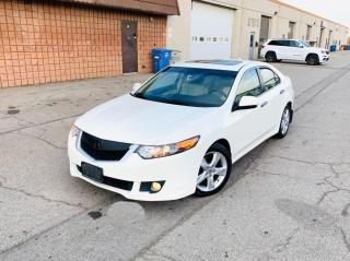 Used 2009 Acura TSX CLEAN CARFAX | RARE | PREMIUM PACK for sale in Burlington, ON
