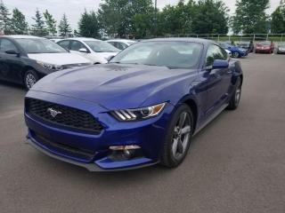 Used 2015 Ford Mustang V6* MANUELLE* CAMERA* BOUTON POUSSOIR* for sale in Québec, QC