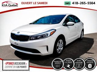 Used 2017 Kia Forte LX* GROUPE ELECTRIQUE* BLUETOOTH* for sale in Québec, QC