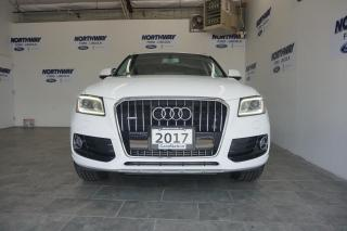 Used 2017 Audi Q5 2.0T | PANO ROOF | LEATHER  |QUATTRO |ONLY 51 KM! for sale in Brantford, ON