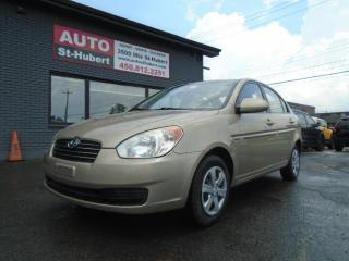 Used 2010 Hyundai Accent HYUNDAI ACCENT L AUTOMATIQUE 2010 for sale in St-Hubert, QC