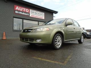 Used 2006 Chevrolet Optra5 CHEVROLET OPTRA5 LT 2006 AUTOMATIQUE for sale in St-Hubert, QC