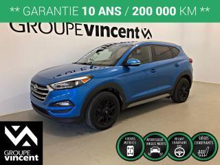 Used 2018 Hyundai Tucson PREMIUM AWD ** GARANTIE 10 ANS ** VUS récent, fiable et polyvalent! for sale in Shawinigan, QC