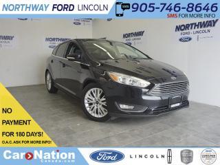 Used 2016 Ford Focus TITANIUM | LEATHER | HATCHBACK | NAV | SUNROOF for sale in Brantford, ON