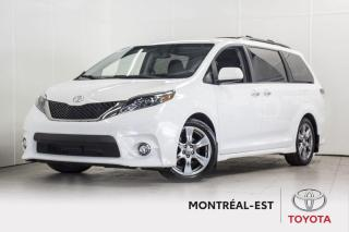 Used 2017 Toyota Sienna SE CUIR,MAGS,TOIT for sale in Montréal, QC