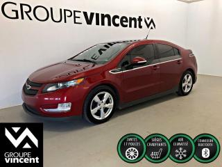 Used 2014 Chevrolet Volt ** BATTERIE GARANTIE 8 ANS/ 160 000 KM ** Très économe en carburant! for sale in Shawinigan, QC