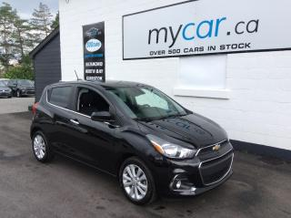 Used 2017 Chevrolet Spark 2LT CVT LEATHER, SUNROOF, HEATED SEATS, LOW MILEAGE!! for sale in Richmond, ON