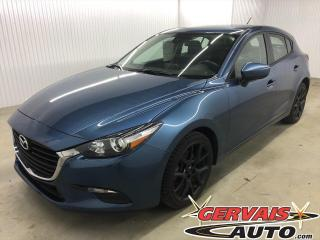 Used 2018 Mazda MAZDA3 GX Sport GPS CAMÉRA DE RECUL BLUETOOTH MAGS *Hatchback* for sale in Trois-Rivières, QC