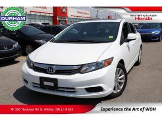 Used 2012 Honda Civic 4dr Auto EX-L for sale in Whitby, ON