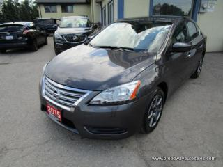 Used 2015 Nissan Sentra FUEL EFFICIENT SV EDITION 5 PASSENGER 1.8L - DOHC.. ECO & SPORT MODE.. HEATED SEATS.. BACK-UP CAMERA.. BLUETOOTH SYSTEM.. KEYLESS ENTRY & START.. for sale in Bradford, ON