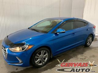 Used 2017 Hyundai Elantra GL Mags caméra A/C Volant chauffant for sale in Trois-Rivières, QC