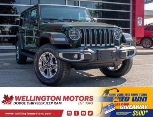 New 2020 Jeep Wrangler Unlimited Sahara for sale in Guelph, ON