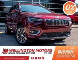 New 2020 Jeep Cherokee OVERLAND for sale in Guelph, ON