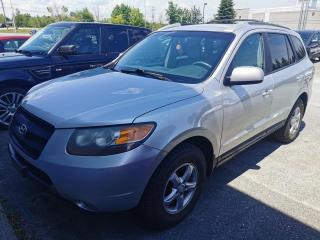 Used 2007 Hyundai Santa Fe AWD / AUTOMATIQUE / AIR CLIMATISÉ / HITC for sale in Sherbrooke, QC