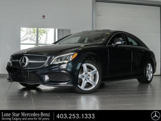 Used 2015 Mercedes-Benz CLS-Class 4MATIC Coupe for sale in Calgary, AB