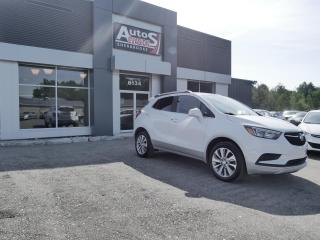 Used 2017 Buick Encore AWD Preferred + INSPECTÉ + BAS KILO for sale in Sherbrooke, QC