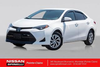 Used 2018 Toyota Corolla LE CAMERA DE RECUL / BLUETOOTH / SIEGES CHAUFFANTS for sale in Montréal, QC