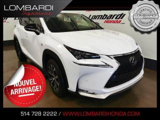 Used 2017 Lexus NX 200t FSPORT|AWD|NAVI|CUIR|TOIT| for sale in Montréal, QC