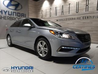 Used 2015 Hyundai Sonata GLS+DEMARREUR+CAMERA+ANGLES-MORTS for sale in Sherbrooke, QC