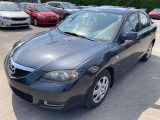 Used 2008 Mazda MAZDA3 2008 Berline 4 portes, boîte automatique for sale in Joliette, QC