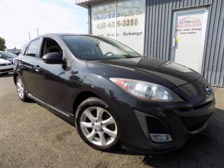 Used 2011 Mazda MAZDA3 Sport **GS,SPORT,AUTOMATIQUE,TOIT,A/C** for sale in Longueuil, QC