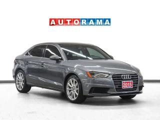 Used 2015 Audi A3 TDI Technik Leather Sunroof Navigation Backup Cam for sale in Toronto, ON