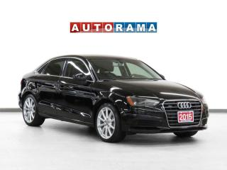 Used 2015 Audi A3 Progressiv Quattro Leather Navigation Parking Aid for sale in Toronto, ON