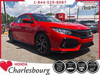 Used 2017 Honda Civic SPORT AUTOMATIQUE** 32 153 KM** for sale in Charlesbourg, QC