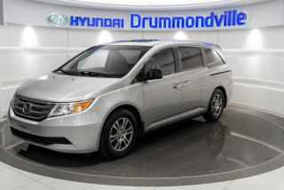 Used 2011 Honda Odyssey EX-L + GARANTIE + DVD + CUIR + A/C + TOI for sale in Drummondville, QC