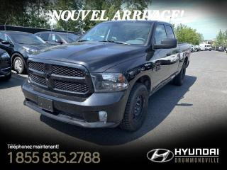 Used 2018 RAM 1500 5.7 HEMI + GARANTIE + A/C + CRUISE + BLU for sale in Drummondville, QC
