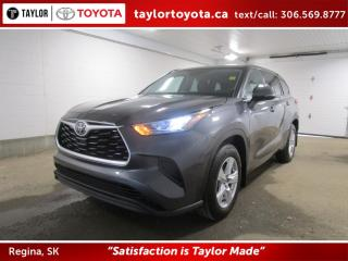 New 2020 Toyota Highlander LE for sale in Regina, SK