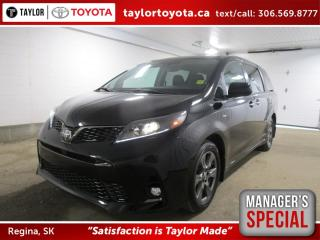 New 2020 Toyota Sienna SE 7-Passenger Save $1500 for sale in Regina, SK