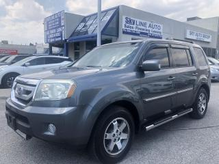 Used 2010 Honda Pilot Touring DVD|NAVI|LEATHER|CAMERA|HEATED SEATS for sale in Concord, ON