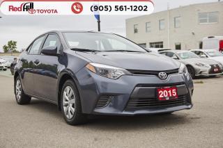 Used 2015 Toyota Corolla LE for sale in Hamilton, ON