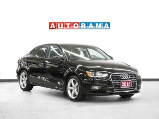 Used 2016 Audi A3 1.8T Komfort Leather Sunroof Heated Seats for sale in Toronto, ON