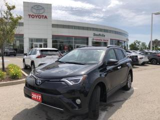 Used 2017 Toyota RAV4 Hybrid Limited HYBRID LIMITED - NAVIGATION - HEATED STEERING WHEEL for sale in Stouffville, ON