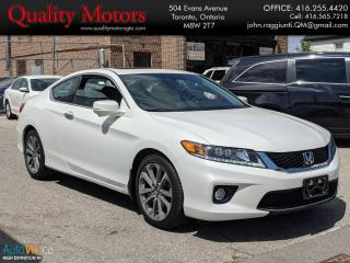 Used 2014 Honda Accord EX-L W/NAVI for sale in Etobicoke, ON