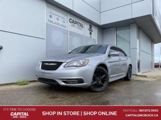 Used 2013 Chrysler 200 S SUNROOF NAV HEATED LEATHER REMOTE START for sale in Edmonton, AB