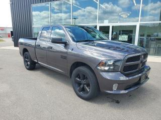 Used 2018 RAM 1500 Express 4x4 Quad Cab, Backup Cam, 20 Black Alloys for sale in Ingersoll, ON