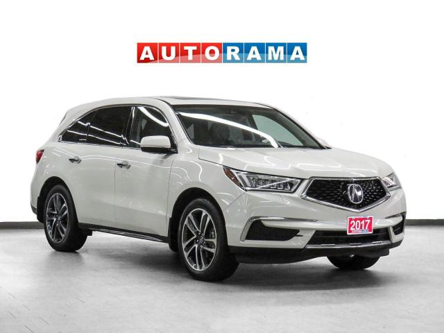 2017 Acura MDX AWD Navigation Leather Sunroof Backup Cam