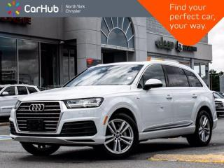 Used 2017 Audi Q7 3.0T Technik S Line Massage Seats  Bang Olufsen Sound Navigation Panoramic Sunroof for sale in Thornhill, ON