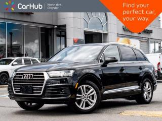Used 2017 Audi Q7 3.0T Technik S Line Quattro BOSE Sound Panoramic Sunroof  HeadsUp Display for sale in Thornhill, ON