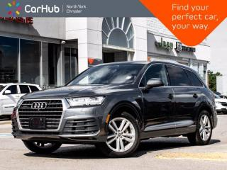 Used 2017 Audi Q7 3.0T Technik S Line Quattro BOSE Sound Panoramic Sunroof Navigation Blind Spot for sale in Thornhill, ON