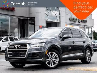 Used 2017 Audi Q7 3.0T Technik S Line Quattro Panoramic Sunroof BOSE Sound HeadsUp Display for sale in Thornhill, ON