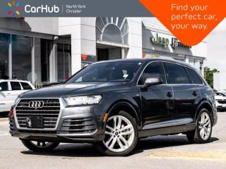 Used 2017 Audi Q7 3.0T Technik S Line Quattro Panoramic Sunroof BOSE Sound Navigation 360 Camera for sale in Thornhill, ON