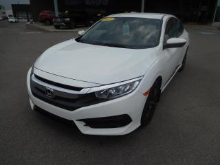 Used 2018 Honda Civic LX CVT,A/C,CRUISE,BLUETOOTH,CAMERA, for sale in Mirabel, QC