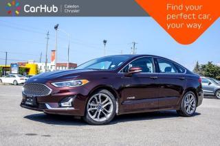 Used 2019 Ford Fusion Hybrid Titanium Navigation Sunroof Bluetooth Backup Camera Heated Ventilated Front Seats 18