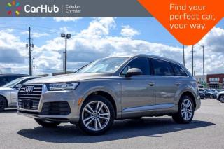 Used 2017 Audi Q7 3.0T Technik Quattro 7 Seater Navigation Panoramic Sunroof Leather Bluetooth Backup Camera 20